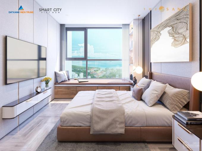 Bán căn hộ 3 phòng ngủ tầng 18, nội thất cao cấp View biển Mỹ Khê