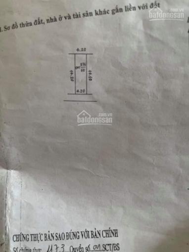 Chính chủ bán 60m2 tại Long Hưng - Văn Giang, mặt tiền và hậu 4,2m đất vuông vắn phong thủy tốt ảnh 0