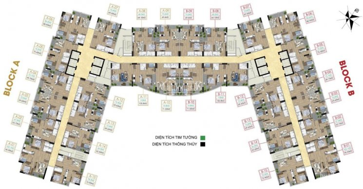 Căn hộ chung cư Tecco Diamond mẫu thiết kế căn hộ 2PN đẹp nhất khu Thanh Trì - CK từ 3% đến 8% ảnh 0