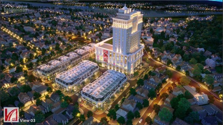 Cần bán gấp lô góc biệt thự Vincom shophouse Hà Giang sân vận động C10, giá 16 tỷ, ký HĐMB CĐT ảnh 0