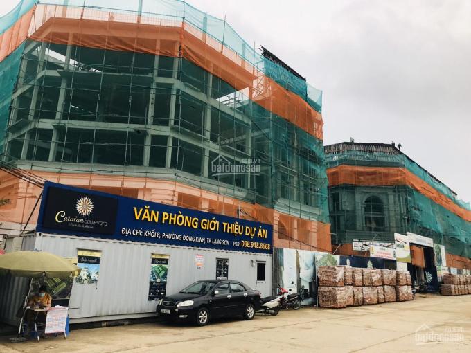 Chỉ từ 1,2 tỷ ký HĐMB và sau 03 tháng sau nhận nhà ngay tại dự án Catalan Boulevard Lạng Sơn ảnh 0