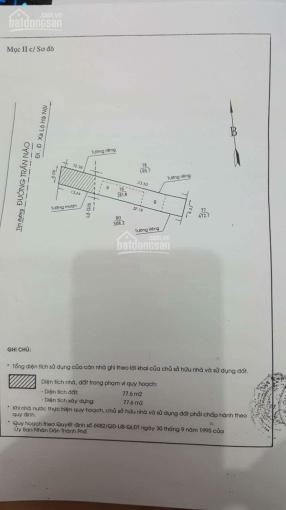 Cần tiền bán nhà cấp 4 mặt tiền đường Trần Não, phường Bình An Quận 2. DT 282m2, bán 80 tỷ ảnh 0