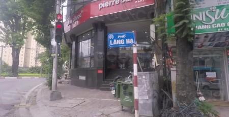 Mặt phố Láng Hạ - vỉa hè đá bóng - kinh doanh bất chấp, sổ đỏ chính chủ 21m2, giá bán 8.5 tỷ ảnh 0