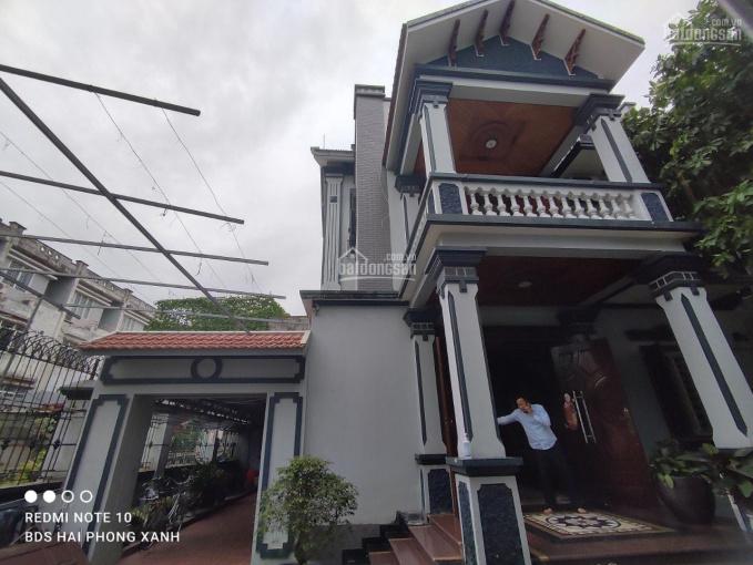 Bán 500m2 đất tặng nhà biệt thự 3 tầng Vĩnh Niệm, Lê Chân, Hải Phòng cách mặt Võ Nguyên Giáp 100m ảnh 0