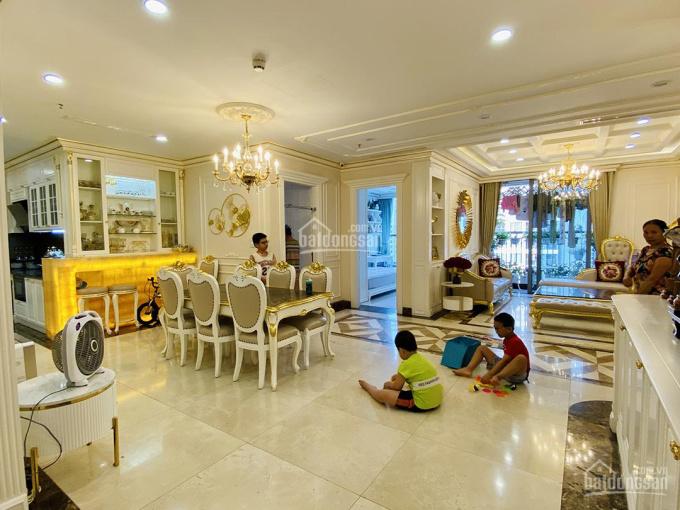 Căn hộ dát vàng nội thất 5 tỷ Times City Park Hill Premium 4 phòng ngủ, 157m2