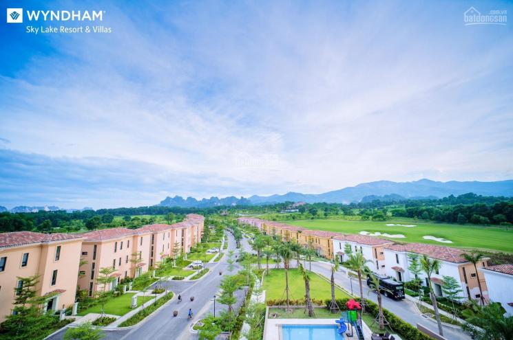 Biệt thự ven đô Chương Mỹ, Hà Nội, Wyndham Sky Lake Villas - quần thể sân golf top 100 thế giới ảnh 0