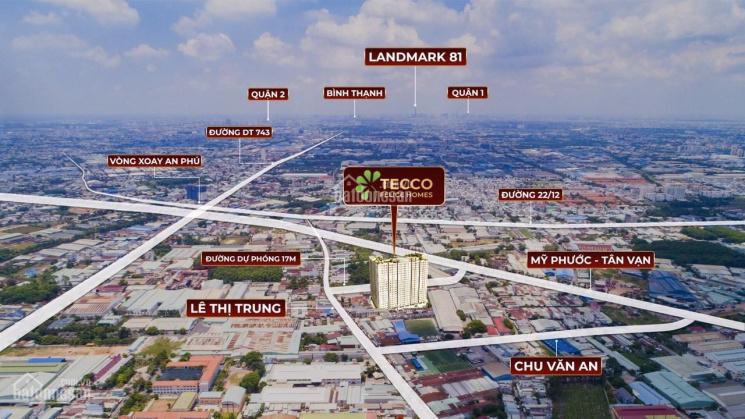 Độc quyền 50 căn từ CĐT giá bán tốt nhất dự án căn hộ cao cấp Tecco Felice Homes - An Phú - BD ảnh 0