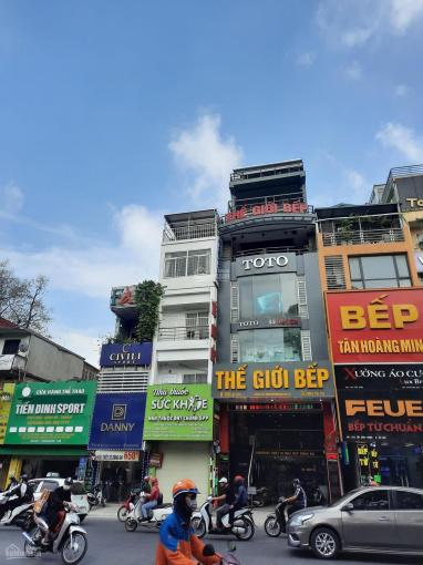 Bán gấp nhà mặt phố Trần Phú, Hà Đông cạnh chợ Phùng Khoang 105m2, 5t, mt 6m. Kd sầm uất ngày đêm ảnh 0