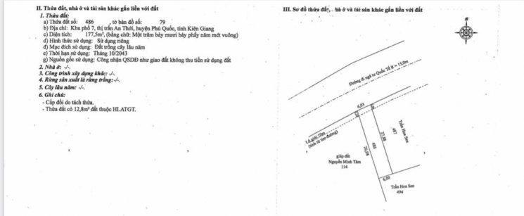 Bán nhanh 8 lô đất ngay tại Ngã Tư Quốc Tế thị trấn An Thới, Phú Quốc,  Kiên Giang - 0901 49 69 69 ảnh 0