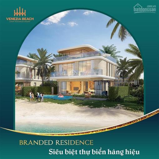 Biệt thự Venezia Beach Bình Châu sở hữu lâu dài, TT 20% đến nhận nhà, Best Western quản lý 5* ảnh 0