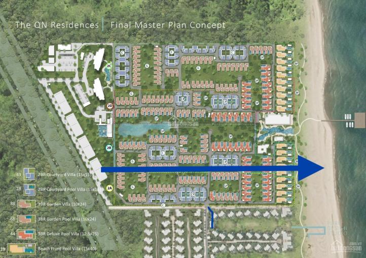 Biệt thự biển Maia Resort Quy Nhơn giá chỉ 6tỷ5, quản lý bởi Fusion. LH hotline 0938 883 551 ảnh 0