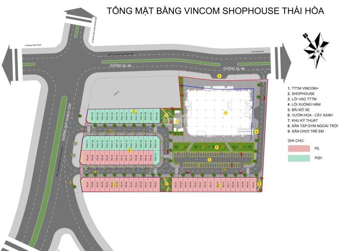 Vincom Shophouse Thái Hòa cơ hội vàng cho các nhà đầu tư về Nghệ An ảnh 0