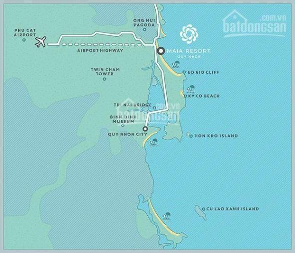 Biệt thự biển Maia Resort Quy Nhơn - Villa 2PN, giá 6.5 tỷ, DT 225m2 - CK lên đến 5% ảnh 0