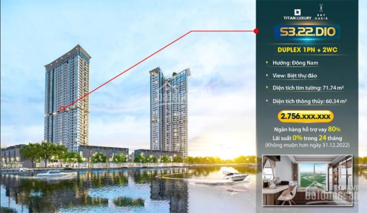 Chỉ với hơn 2 tỷ được sở hữu căn siêu phẩm Duplex Studio có diện tích gần 60m2, LH 0328920737 Zalo ảnh 0