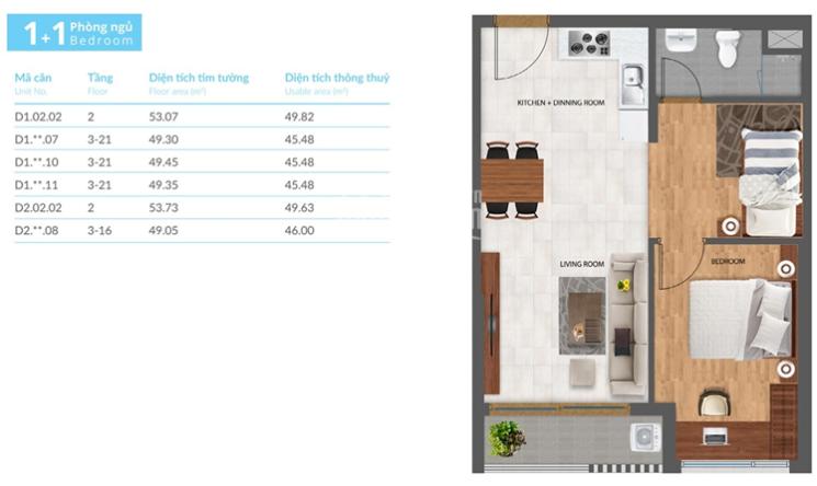 Cần bán gấp căn hộ Safira Khang Điền Q9, 1PN+ 2.1 tỷ ảnh 0