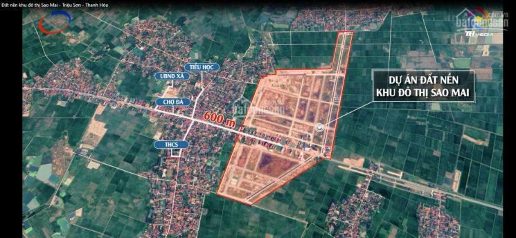 Chuyển nhượng lại lô đất dự án Sao Mai - giá 6,77 tr/m2 - giá thị trường đang 7,5 - 8,5 tr/m2 ảnh 0