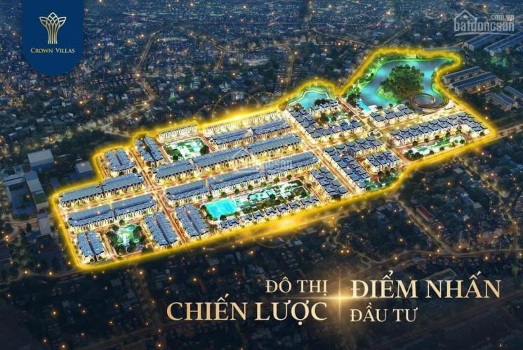 Biệt thự Crown Villas Thái Nguyên - 01 suất ngoại giao cuối cùng hỗ trợ 100% GT, LS 0% 24 tháng ảnh 0