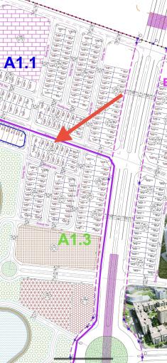 Chị gái tôi nhờ bán gấp lô biệt thự đường 25m khu A1.3 gần hồ, gần đường giao thông chính 50m ảnh 0