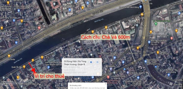 Cho thuê nhà nguyên căn số 517/6 đường Bình Đông, phường 13, quận 8 (cách cầu Chà Và 600m) ảnh 0