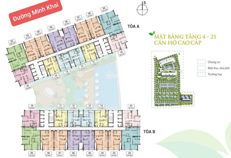 21 căn hộ cần bán lại tại chung cư Green Pearl 378 Minh Khai LH 0986707054 ảnh 0
