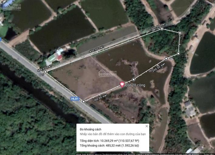 Bán đất 10 công thị xã Duyên Hải, 2 mặt tiền, mặt tiền lộ lớn 70m, lộ nhỏ mặt tiền hơn 150m ảnh 0
