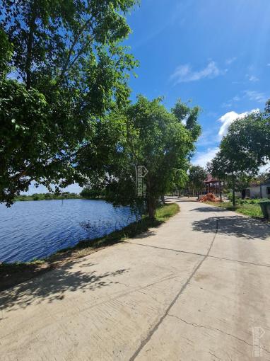 Bán đất ngay Hồ Trúc cách hồ 40m mặt tiền đường bê tông 5m diện tích: 10mx 55m pháp lý thổ cư 110m ảnh 0