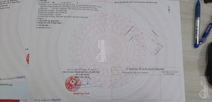 Bán lô góc Nguyễn Thị Ba và Hoa Lư ảnh 0