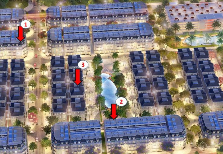 Tin cực đặc biệt 5 lô liền kề, biệt thự đẹp, view công viên, quảng trường, lợi nhuận 25% trở lên ảnh 0