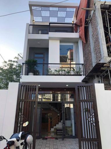 Cho thuê nhà 3 tầng mới đẹp - gần đường Dương Đình Nghệ - gần Vincom giá 9 tr/th - 0963094049 ảnh 0