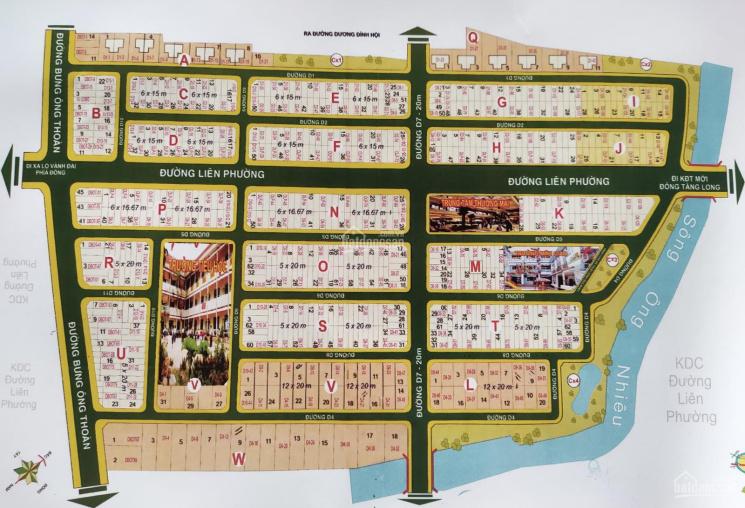 Siêu thị các đất nền gửi bán tại dự án sổ đỏ KDC Sở Văn Hóa Thông Tin, Quận 9, đường Liên Phường ảnh 0