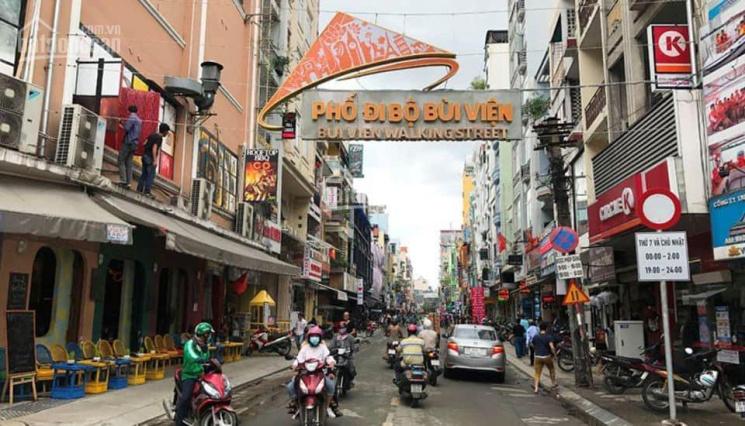 Mặt tiền khu phố Tây Bùi Viện - Vừa xây xong - Hiệu suất sinh lời cao - LH: 0786961692 ảnh 0