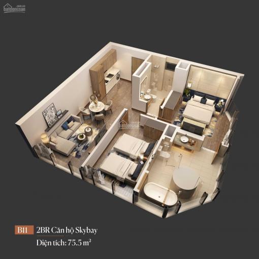 Chính chủ cần bán căn hộ B2011, 2 ngủ, view biển và Intercontinental Hạ Long giá 5 tỷ ảnh 0