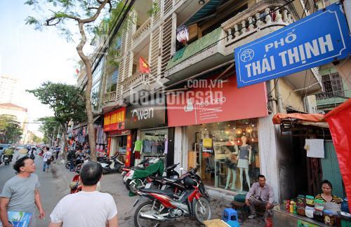 Bán nhà ngay mặt phố Thái Thịnh, tiện kinh doanh, buôn bán đủ loại hình 30m2 x 4 tầng, mặt tiền 6m ảnh 0