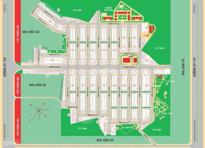 Bán đất mặt đường ĐT 742, Xã Bình Mỹ, Bắc Tân Uyên ảnh 0