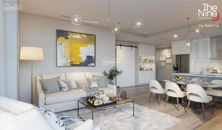 3,7 tỷ sở hữu ngay CH 2PN tầng 11, ban công hướng Nam cực mát chung cư cao cấp The Nine Cầu Giấy ảnh 0