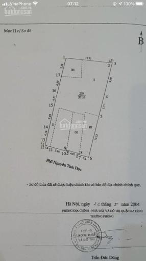Bán nhà phố Nguyễn Thái Học, Ba Đình, Hà Nội ảnh 0