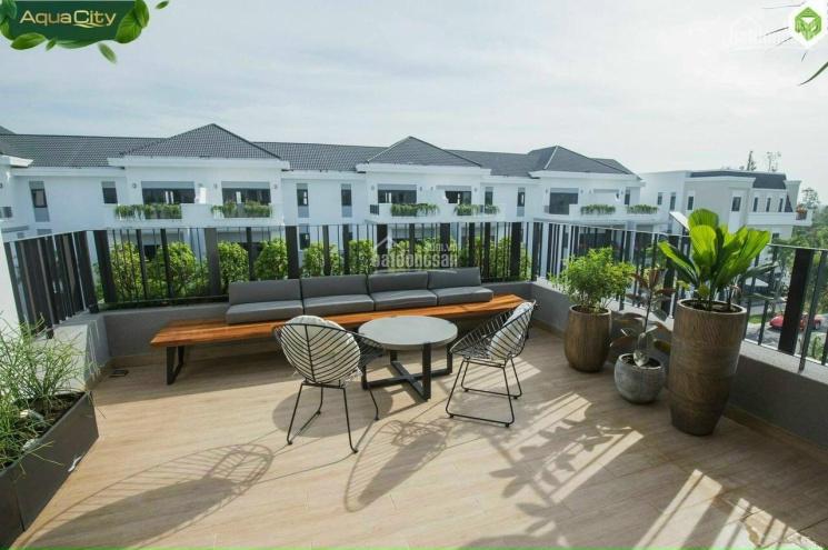 Bán nhà phố 8x20m (160m2) The Suite Aqua City giá tốt thời dịch 19 chỉ 7,6 tỷ(HDMB). LH: 0909611227 ảnh 0