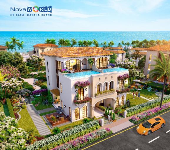 Habana Island - dự án NovaWorld Hồ Tràm - biệt thự biển theo kiến trúc Địa Trung Hải - giá 20.1 tỷ ảnh 0