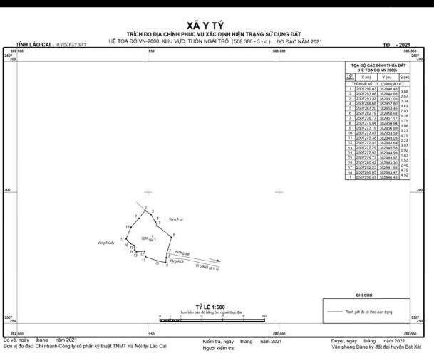 Mua bán đất Ngải Trồ, Sapa2, Lào Cai, vị trí trung tâm đắc địa ảnh 0