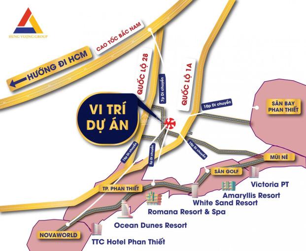 Nam An Eco Town Phan Thiết Bình Thuận dự án 1/500 duy nhất, sổ đỏ riêng từng nền ảnh 0