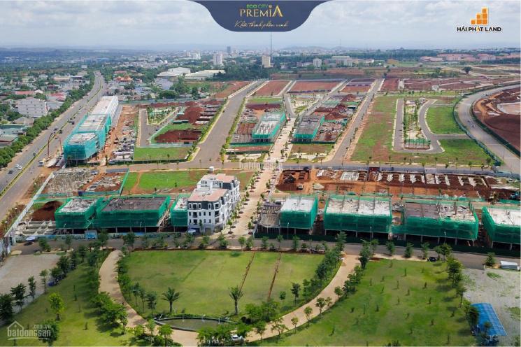 Bán nhà phố thương mại liền kề để ở hoặc kinh doanh KĐT Eco City Premia, TP BMT, Đak Lak ảnh 0