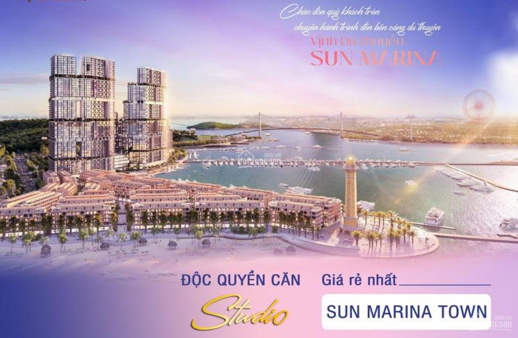 Quỹ căn studio đầu tư vốn mỏng chỉ từ 2 tỷ lợi nhuận 15% - Sun Marina căn hộ mặt vịnh du thuyền ảnh 0