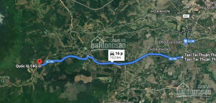 Bán lô 400m2 mặt tiền 14G, Hòa Phú, Hòa Vang, Đà Nẵng ảnh 0