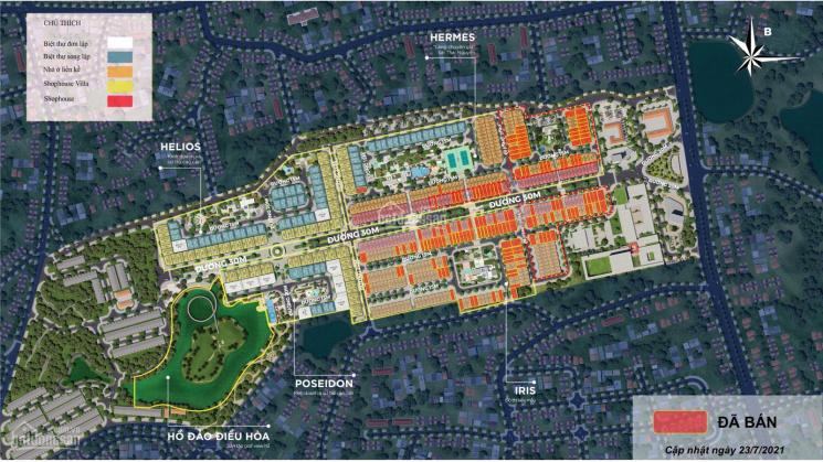 Cơ hội đầu tư shophouse, liền kề, biệt thự chỉ 0 đồng. Nhận ngay sổ đỏ tại Crown Villas Thái Nguyên ảnh 0
