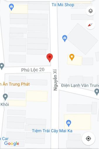 Chính chủ bán đất 2 MT Nguyễn Xí & Phú Lộc 20. Vị trí đẹp gần biển ảnh 0