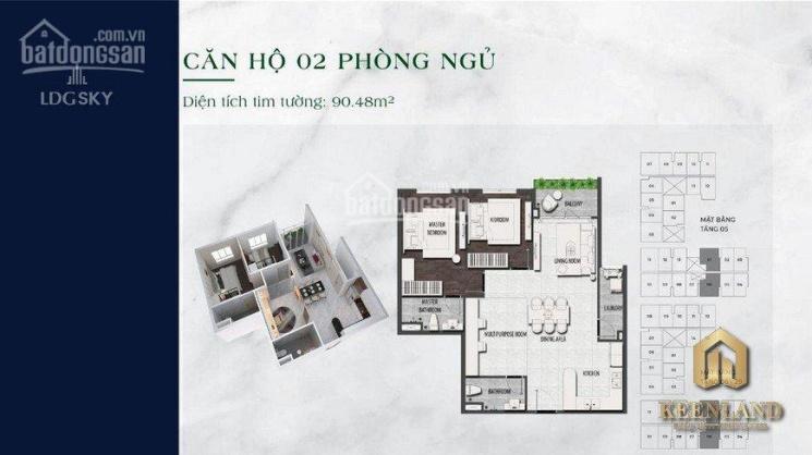 LDG Sky căn hộ an cư cho vợ chồng trẻ, lãi kép cho nhà đầu tư, giá tốt - CK khủng ảnh 0