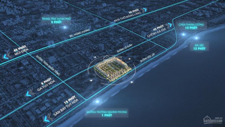 Biệt thự đơn lập 253m2 full nội thất, cận phố mặt biển Tuy Hòa, chỉ với 69 triệu/m2 ảnh 0
