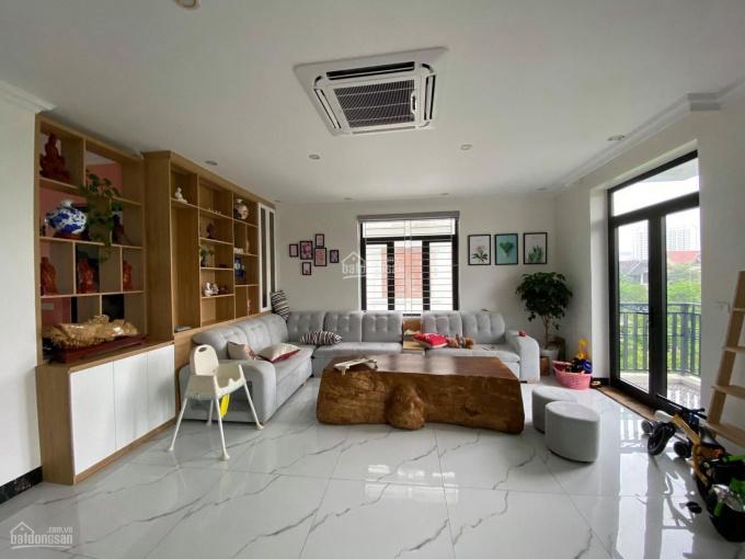 Liền kề khu biệt thự Thành Phố Giao Lưu, sát hồ, 7 tầng thang máy, nhà đẹp ở luôn hoặc cho thuê ảnh 0