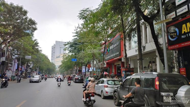 Bán nhà mặt phố Thái Hà - vị trí vàng - kinh doanh sầm uất - DT 80m2 - MT 4.8m - giá 45 tỷ ảnh 0