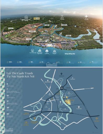 Chuyển nhượng giá tốt chỉ với 5.3 tỷ sở hữu nhà phố 5x19,5m ở Aqua City ảnh 0